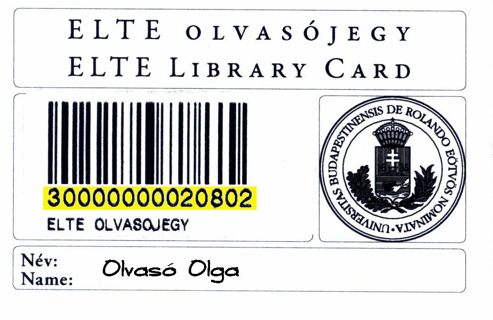 ELTE reader card image